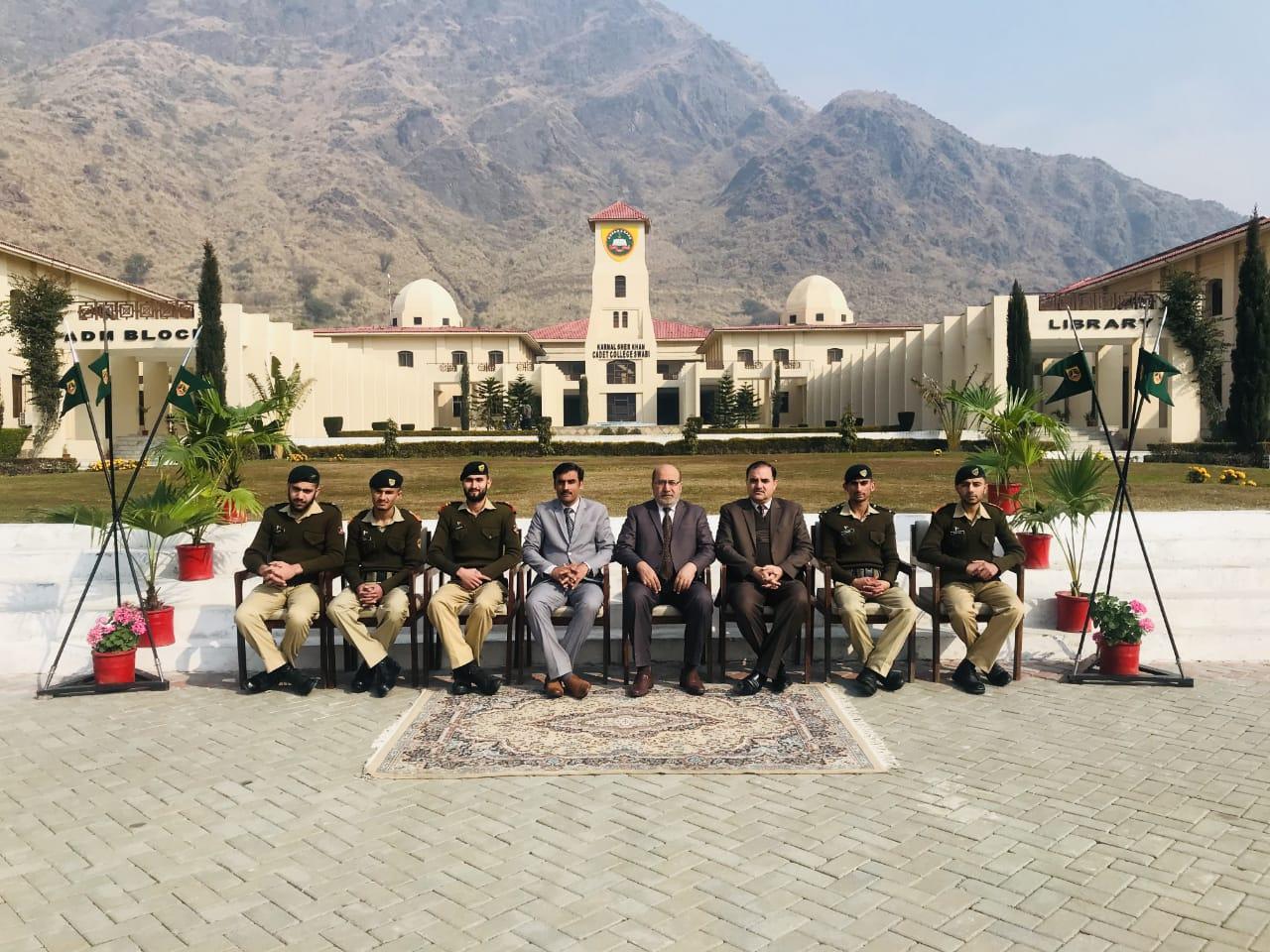Collaboration with Karnal Sher Khan Cadet College Charsadda